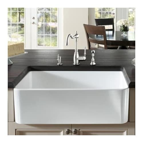 Blanco Cerana II 33u0022 Apron Single Bowl Sink White