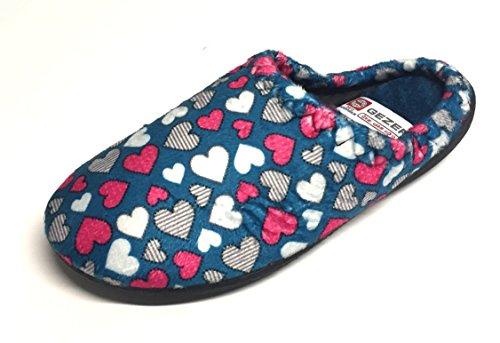 Gezer Women's Slippers 6.5 Blue / Petrol fy8PMiEl9