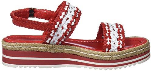 Corail quintana Multicolore Arriere Bride Sandales Pons 6808 Blanc Femme 23100 000 Oxd8Tdwqa