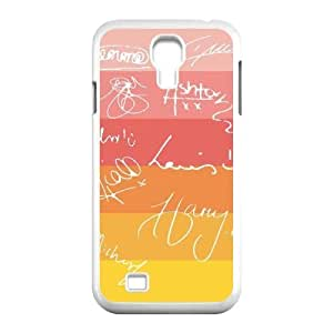 One Direction Signature DIY Cell Phone Case for SamSung Galaxy S4 I9500 LMc-52574 at LaiMc