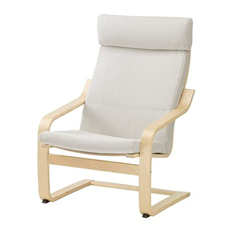 Amazon.com: Ikea Chair, birch veneer, Finnsta white ...