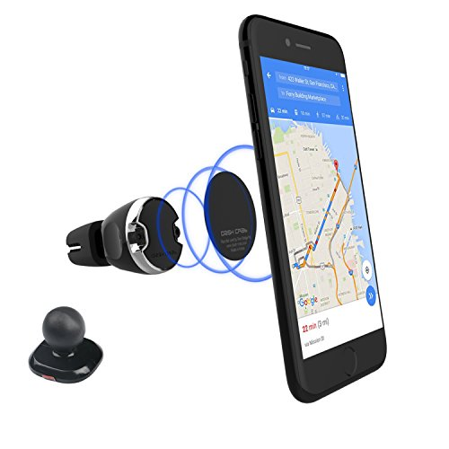 Dash Crab 2-in-1 Magnetic Phone Car Mount, Cell Phone Holder