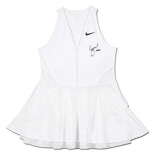 Tennis Nike Dress (SERENA WILLIAMS WHITE NIKE WOMEN'S SERENA POWER COURT TENNIS DRESS)