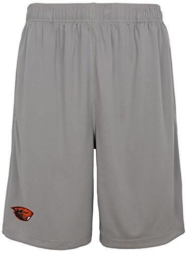 NCAA Oregon State Beavers Men's Playmaker Basic Performance Short, Charcoal Grey, Men's Large (Mens Shorts Oregon)