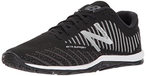 New Balance Men's 20v7 Minimus Training Shoe, Black/White, 11 2E US