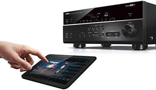 Yamaha ARXV683BL Amplificateur de Home Cin/éma pour Smartphone//Tablette Noir//Titane