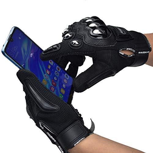 オートバイの手袋、夏のフルフィンガーフォンタッチ技術的な手袋、軍事戦術的なエアガンハードナックルアウトドアスポーツ乗馬アクションスポーツレーシンググローブ
