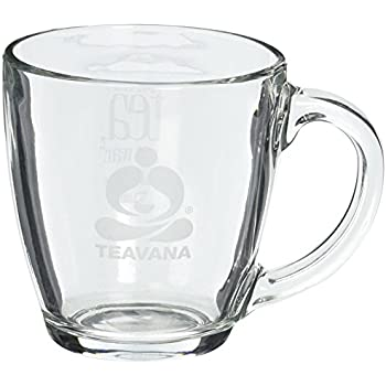 Amazon.com | Teavana Perfect Glass Tea Mug: Coffee Cups & Mugs