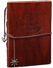 CINOTON Self-Adhesive Scrapbook Album DIY Photo Album,Creative Anniversary Album Book Memory Book