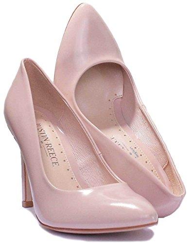 Justin Hellrosa High Reece Leder Damen Pink Heel Matt Dante Stiletto Pumps twnABrqw