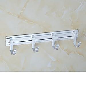 on sale Space aluminum exhaust hangers/coat and hat hook /Bathroom hook/ door hooks-E