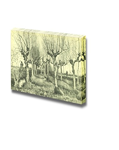 Tree Drawings by Vincent Van Gogh Print Famous Oil Painting Reproduction