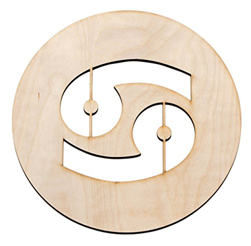 Moon Wood Sign (Fourth Level Mfg. Designs Cancer Sign, 12