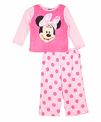 AME Sleepwear Baby Girls' Minnie Mini Dots 2 Piece Set