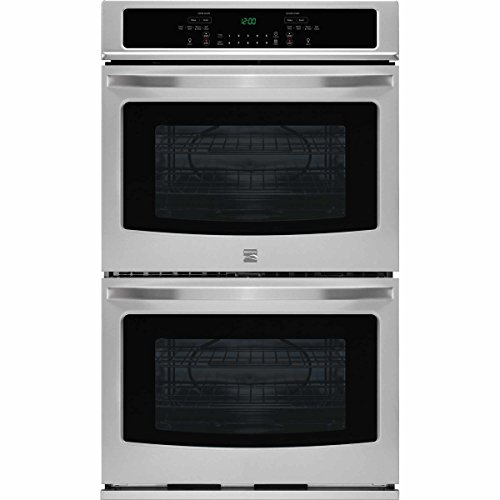 Kenmore 49413 27″ Electric Self-Clean Double Wall Oven, Stainless Steel