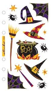 EK Success Sticko Seasonal Classic Stickers-Witch's Brew ()