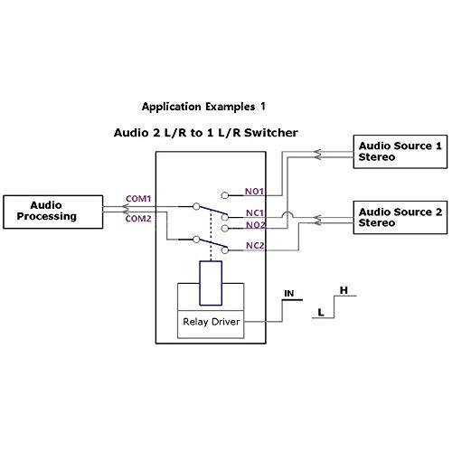 chen499401077 DPDT Relay Module Reverse Polarity Switch ARDUINO UNO MEGA  Development Board