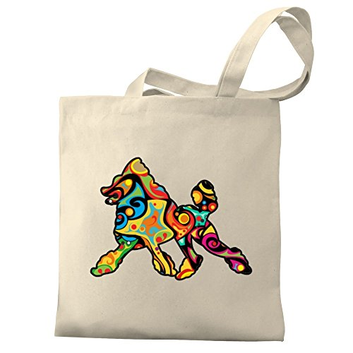 Poodle Eddany Eddany Bag Psychedelic Psychedelic Tote Canvas RqfwqFt1x