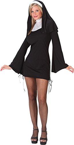 [Morris Costumes Halloween Nun naughty medium large] (Naughty Nun Halloween Costumes)