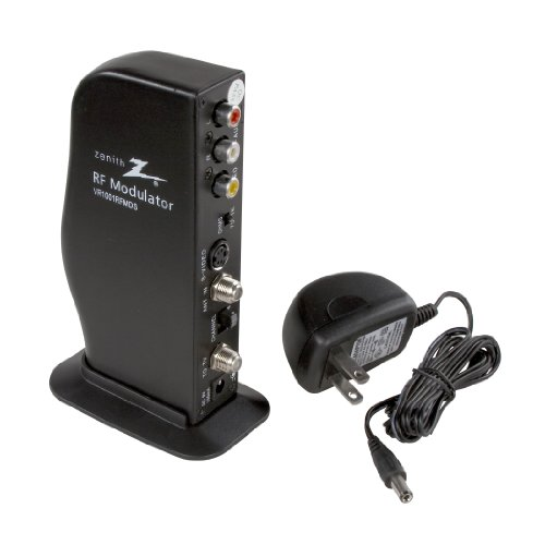 AmerTac - Zenith VR1001RFMDS RF Modulator/Video Converter With S-Video Input Connect Rf Modulator