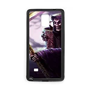 Samsung Galaxy Note 4 Phone Case Cover Black League of Legends Grim Reaper Karthus EUA15990847 Cell Phone Back Covers