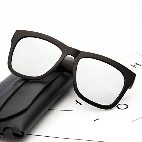UV400 Soleil De HONEY Protection Unisexe 1 Couleur 4 Lunettes Damesde Lentilles Style Nuances Hommes Noires g1gxwE