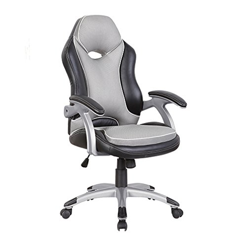 TECHNI MOBILI High Back Executive Sport Race Office Chair – Black & Grey