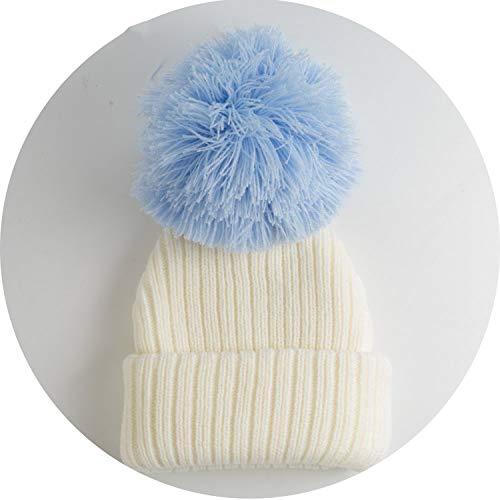 Kids Winter Warm Hat Knit Crochet Baby Boys Girls Cotton Children Cap