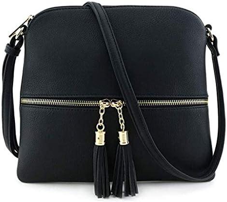 洋子ちゃん レディース ファッション 可愛い お財布 バック 女性用 無地 純色 ソリッドカラー タッセル ショルダーメッセンジャーバッグ エンベロープバッグ