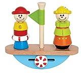 Hape Balance Boat Toddler Wooden Stacking Toy