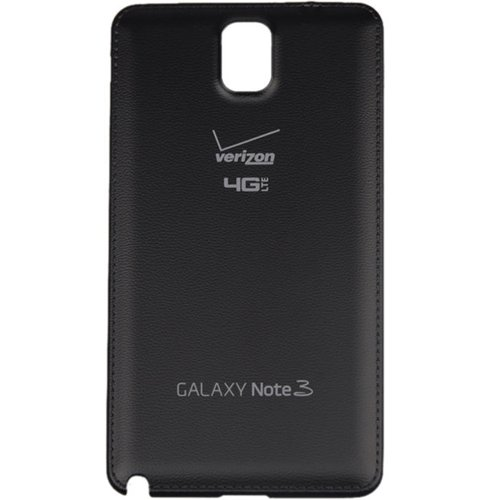 For Samsung Galaxy Note 3 N900V Verizon 4G LTE Back Battery Door Cover - Black - All Repair Parts USA Seller ()