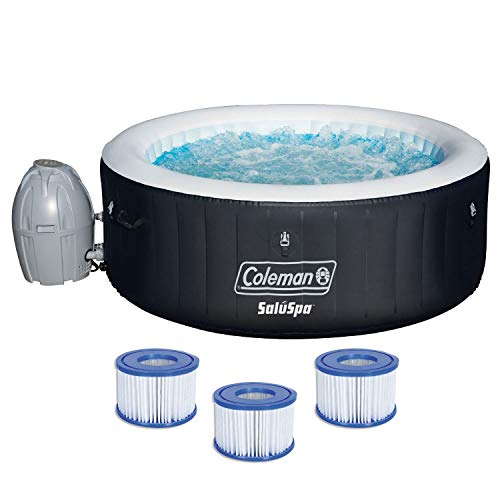Coleman 71 x 26 Inflatable Spa 4-Person Hot Tub