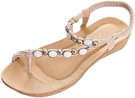 8c1153060b2d2 Shopping Flats - Sandals - Shoes - Women - Clothing, Shoes & Jewelry ...