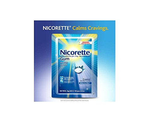 Nicorette White Ice 2 mg. Value Pack, 200 Count