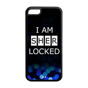 Sherlock I Am Sherlocked Silicone Case for Iphone 5c At&t Sprint Verizon Retail Packaging