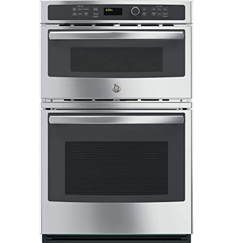 GE JK3800SHSS 27″ Stainless Steel Electric Combination Wall Oven (Certified Refurbished)