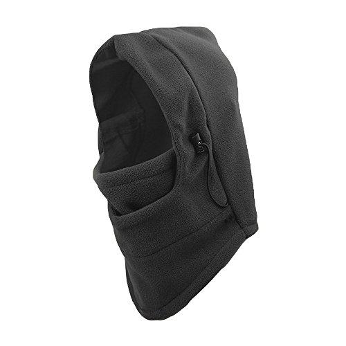 (PU Health Fleece Ski Mask Hood Balaclava 3 in 1, Adjustable, Color Choices, Winter Weather Necessity, 0.3 Pound)