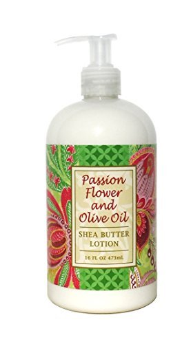 Greenwich Bay PASSION FLOWER Hand & Body Lotion, with Cocoa