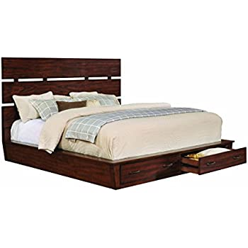 Amazon Com Artesia Eastern King Platform Bed With Storage