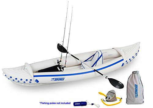 Sea Eagle Inflatable Sport Kayak Fishing Package