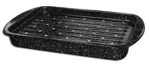Granite Ware 0542-2 Roaster/Broiler Set, 2-Piece (Granite Ware Roaster Pan compare prices)