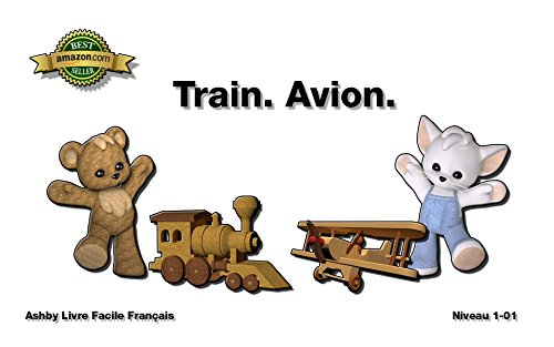 Amazon Com Train Avion Livre Facile Francais Level 1 01