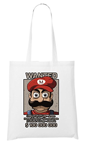 Mario Freak Wanted Bag White Certified rxBdCoe