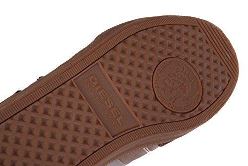 Diesel baskets homme#25 fermeture chaussures marron