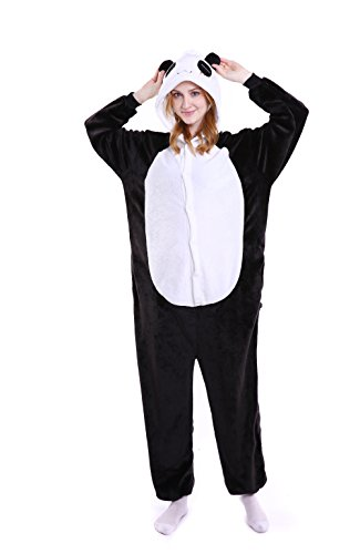 Grilong Unisex Adult Animals Pajamas Onesie Cosplay Costume Cute Sleepwear, (Cute Easy Costumes Halloween)