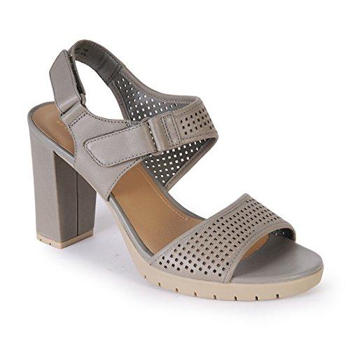 CLARKS Clarks Womens Sandal Pastina Estate Sage Leather 7.0