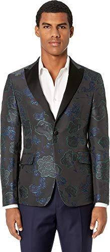 Versace Collection Men's Brocade Tuxedo Jacket Blue for sale  Delivered anywhere in USA