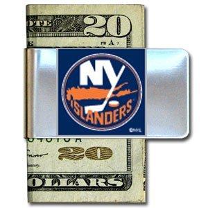 NHL New York Islanders Steel Money Clip
