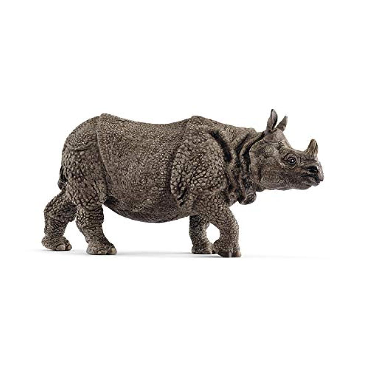 [해외] 슐라이히 야생동물 인도 코뿔소 피규어 14816