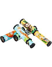 Kids Toys Classic Kaleidoscope Toys Magical Ever-Changing Interior View Flower Tube Children Toys Large Revolving Kaleidoscope Colors 2 Pack